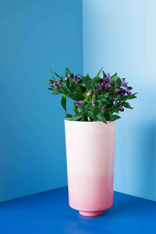 Reddish Vase Up