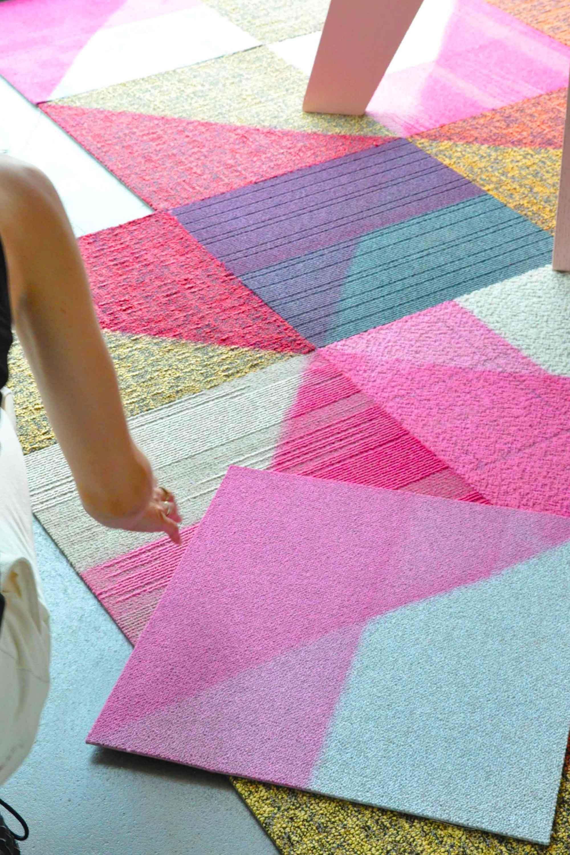 Desso:Re-vive carpet tiles